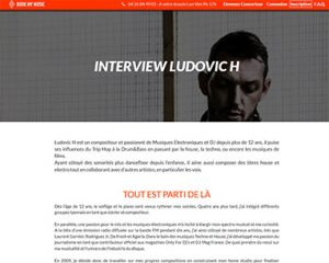 Interview Ludovic H Book My Music