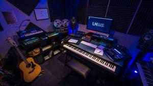 Studio de composition musicale