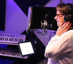 voix off enregistrement