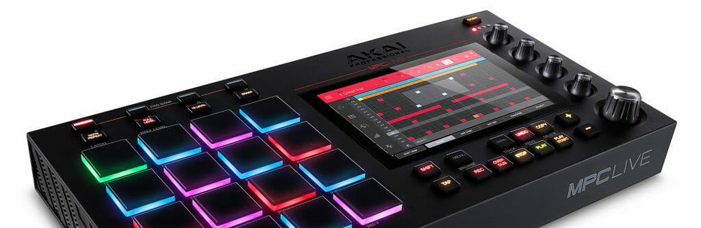 Test Akai MPC LIVE