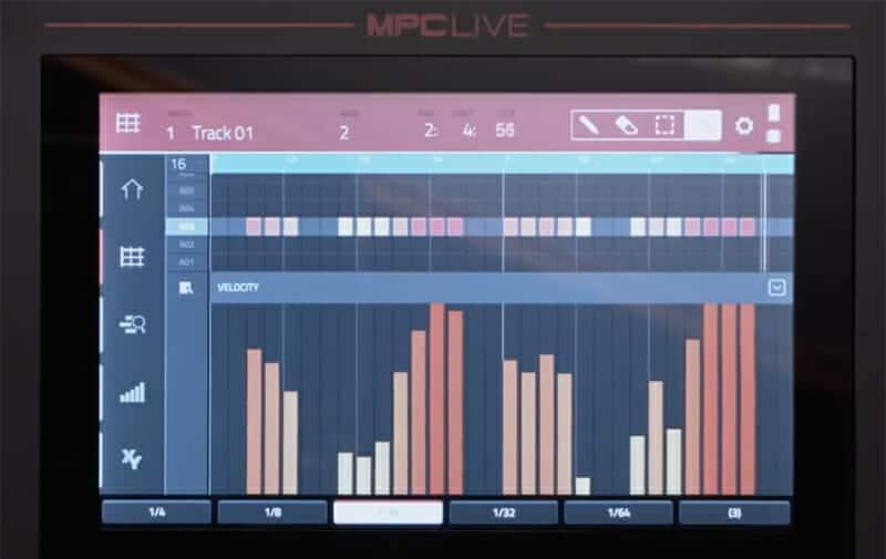 AKAI MPC LIVE Ecran Tactile