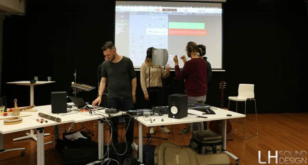 Studio enregistrement éphémère identité sonore