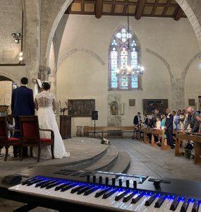 Mariage sur-mesure musicien église Komplete