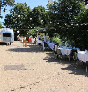 Mariage champêtre food-truck
