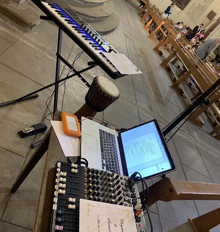 Mariage sur-mesure musicien église