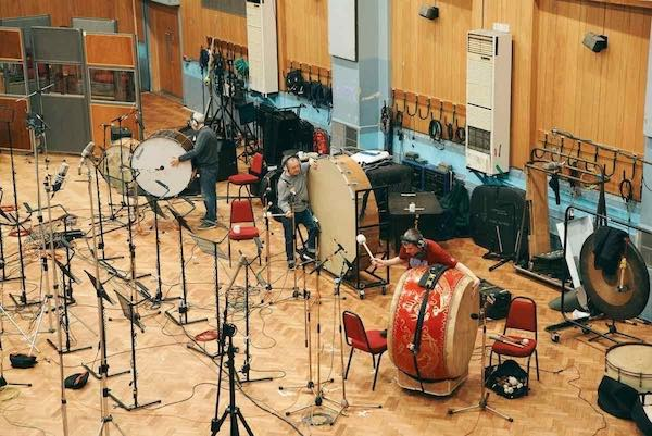 Enregistrement des percussions banque de sons d'orchestre Abbey Road One