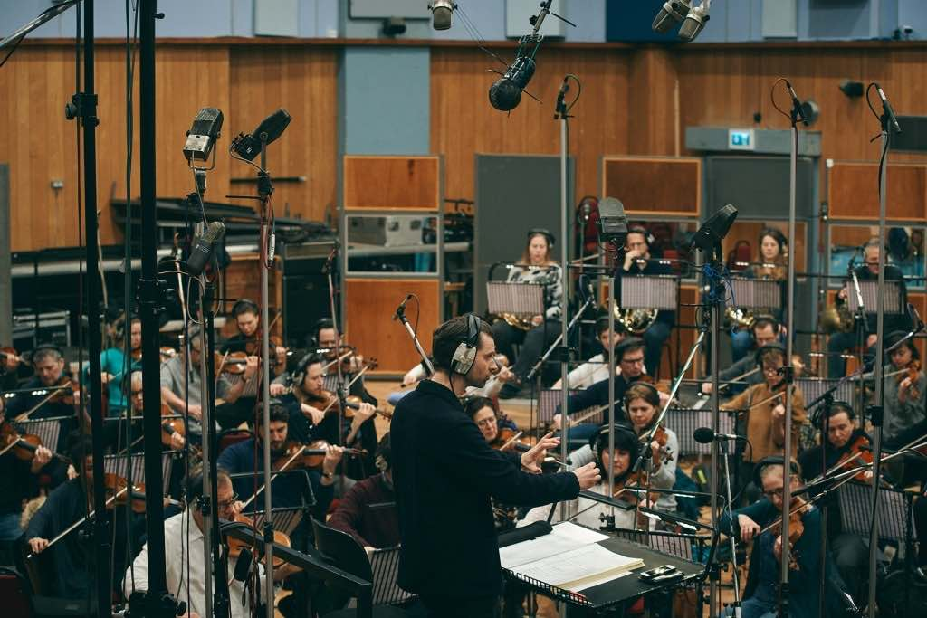 Enregistrement des cordes banque de sons d'orchestre Abbey Road One